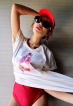 New T-shirts Lサイズ【White Venus】