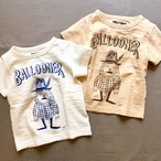 BALLOONER x PONY GO ROUND Kid's Tee.