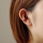 FOLDING METAL / earcuff B - yellow gold
