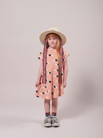 BOBO CHOSES ボボショセス Eyes All Over Jersey Dress size:4-5Y(100-110)~10-11Y(140-150)