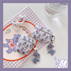 Cute rabbit airpods1/2 Pro case