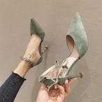 【shoes】視線を集め美脚効果シューズ