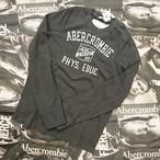 Abercrombie&FitchメンズロングTシャツSサイズ