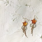Marble star bijou tassel pierce/earring