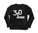 310長袖Tシャツ【黒】