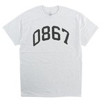 0867 / T-Shirt / Arch / Logo / Ash