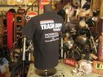 TRASH DEPT オリジナルTシャツ タイプC ブラック Ladies & Youth サイズ