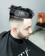 TRU BARBER マジックヘアグリップ2枚組 ブラック