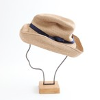 mature ha./BOXED HAT 101 mixbrown×navy
