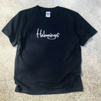 Hulamingos 2009 logo COTTON T-SHIRTS BLACK
