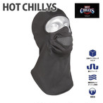HOT CHILLYS (ホットチリーズ) チリブロック マスク マイクロエリート シャモア バラクラバ HC6136 ネックウォーマー 冬 アウトドア 雪山 極寒冷地