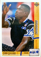 NBAカード 91-92UPPERDECK Terry Catledge #205 MAGIC