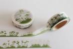 【デザイングッズ】苔マスキングテープ mossking tape