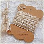 §koko§ 引き揃え糸カード ~大地の加護~オリジナル糸 ファンシー ラッピング レース タッセル