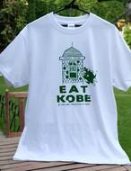 Tシャツ EAT KOBE うろこの家 グリーン