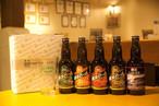 オンライン飲み会 セット (飲み比べ5種+横浜ビールオリジナルグラス)