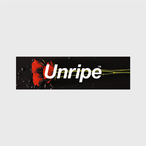Unripe Red Roses Sticker
