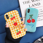 【オーダー商品】Summer cute cherry iphone case