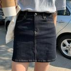【bottoms】 ハイウエストデニム人気スカート26681825