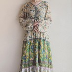 vintage 70s indian cotton onepiece