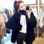 ケープみたい☆モコモコかわいい子羊さん長袖ジャケット