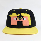 【Mikkeller】Snap Back Cap / Black ✕ Yellow