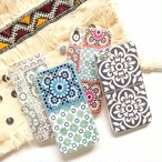 タイル柄 iPhone soft case(7.8.SE2/X.XS)