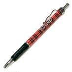スコティッシュ・タータン・ボールペン【Royal Stewart】Elgate Products 90168