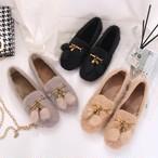 【shoes】激売れファッション暖かいフラットシューズ