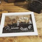 クリアフレーム<coffeebeans> NEW★