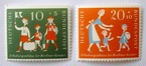 児童福祉 / ドイツ切手 1957