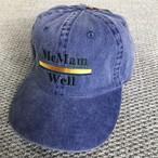 "McMamWell 6panel Pigment CAP ""BLUE"""