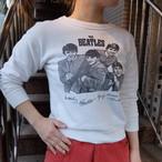 60's THE BEATLES sweat/60年代 ザ ビートルズ 染み込みプリント スウェット