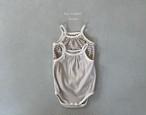 【予約販売】maru sleeveless baby-suit【baby】〈La.camel〉