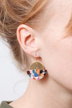 ◇STATE OF A◇ EARRING Semi Cirlce(Item No 11940)