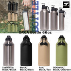 ORCA Bottle 66oz オルカ ボトル 66オンス キャンプ用品 アウトドア キャンプ グッズ ステンレス ドリンク 持ち運び 保冷 保温 こぼれにくい