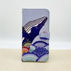 紅型iPhoneケース『さんごクジラ』