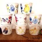 ボウル 保存容器 (38羽の中からお好きな鳥・インコを選べます)