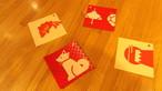 京都烏丸六七堂の日本の伝統和紙を使ったコースター2枚組