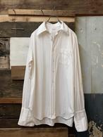 50-60's 'saks fifth avenue' double cuffs dress shirt