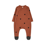 organic zoo 「Earth dots Suit with contrast feet」