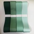 グログランリボングリーン系/4色/各2m/全8m