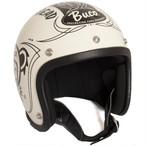 BUCO ヘルメット グレイトフルデッド ホワイト ベイビーブコ M/L(58-60)