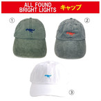 ALL FOUND BRIGHT LIGHTS キャップ