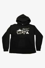 ALF CAMP パーカー (ブラック)