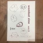 wombat zine vol.3
