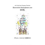 【受注生産】イラストスマホケース019L*iPhone・Android 各機種対応 OD-SPC-019L