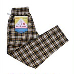 COOKMAN Chef Pants 「Corduroy Tartan」 YELLOW
