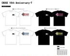 CRUSE10周年記念ティーシャツ