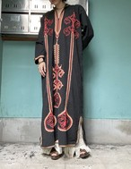Moroccan  style  black dress